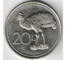 Папуа-Новая Гвинея 20 тойя 2004-2010