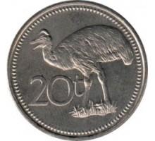 Папуа - Новая Гвинея 20 тойя 1975-1999