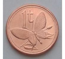 Папуа-Новая Гвинея 1 тойя 1975-2004