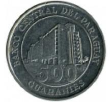 Парагвай 500 гуарани 2006-2014
