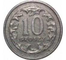Польша 10 грошей 1990-2016