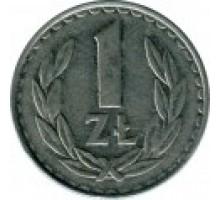Польша 1 злотый 1986-1988