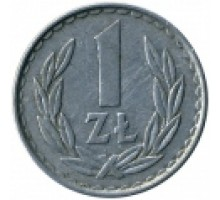 Польша 1 злотый 1957-1985