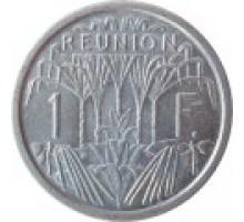 Реюньон 1 франк 1948-1973