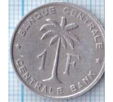 Руанда-Урунди 1 франк 1958