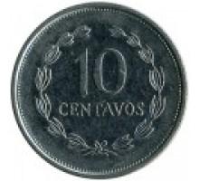 Сальвадор 10 сентаво 1995-1998