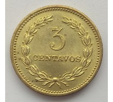 Сальвадор 3 сентаво 1974
