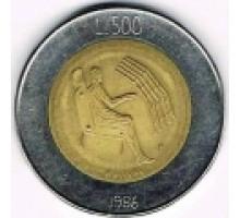 Сан-Марино 500 лир 1986. Эволюция технологий