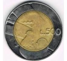 Сан-Марино 500 лир 1990. Шестнадцать веков истории