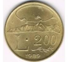 Сан-Марино 200 лир 1989. Шестнадцать веков истории