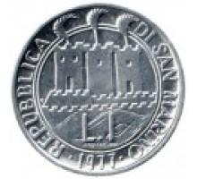 Сан-Марино 1 лира 1977