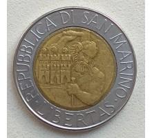 Сан-Марино 500 лир 1994
