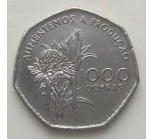 Сан-Томе и Принсипи 1000 добр 1997
