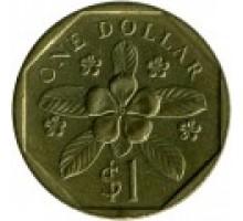 Сингапур 1 доллар 1987-1991
