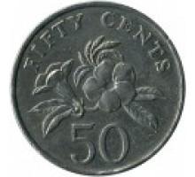 Сингапур 50 центов 1992-2012
