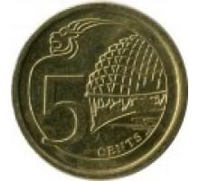 Сингапур 5 центов 2013-2016