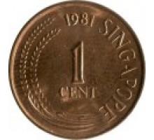 Сингапур 1 цент 1976-1985