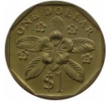 Сингапур 1 доллар 1992 - 2012