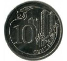 Сингапур 10 центов 2013-2016