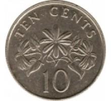 Сингапур 10 центов 1985-1991