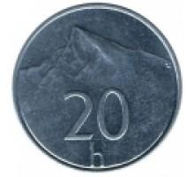 Словакия 20 геллеров 1993-2003