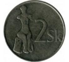 Словакия 2 кроны 1993-2008