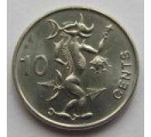 Соломоновы острова 10 центов 2012