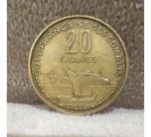 Сомали 20 франков 1952