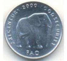 Сомали 5 шиллингов 1999-2002