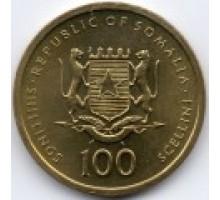 Сомали 100 шиллингов 2002