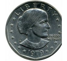 США 1 доллар 1979 Сьюзен Энтони