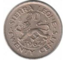 Сьерра-Леоне 20 центов 1964