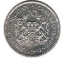 Сьерра-Леоне 20 центов 1978-1984