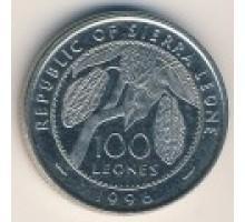 Сьерра-Леоне 100 леоне 1996