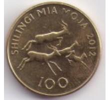 Танзания 100 шиллингов 1993-2015