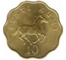 Танзания 10 центов 1977 - 1984