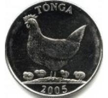 Тонга 5 сенити 2002-2005