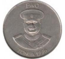 Тонга 20 сенити 1981-1996