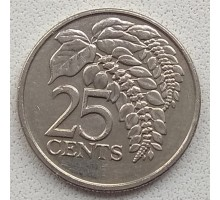 Тринидад и Тобаго 25 центов 1976-2015