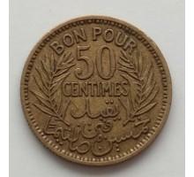 Тунис 50 сантимов 1941