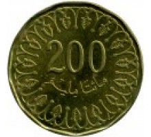Тунис 200 миллимов 2013