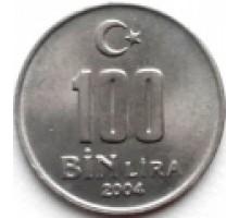 Турция 100000 лир 2001-2004