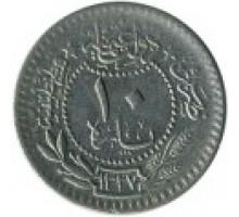 Турция (Османская империя) 10 пар 1909