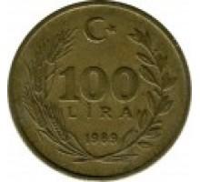 Турция 100 лир 1988 - 1996