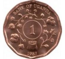 Уганда 1 шиллинг 1987