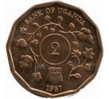 Уганда 2 шиллинга 1987