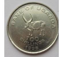 Уганда 100 шиллингов 1998