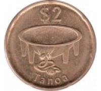 Фиджи 2 доллара 2014