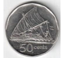 Фиджи 50 центов 2009-2010