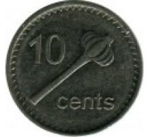 Фиджи 10 центов 2009-2010